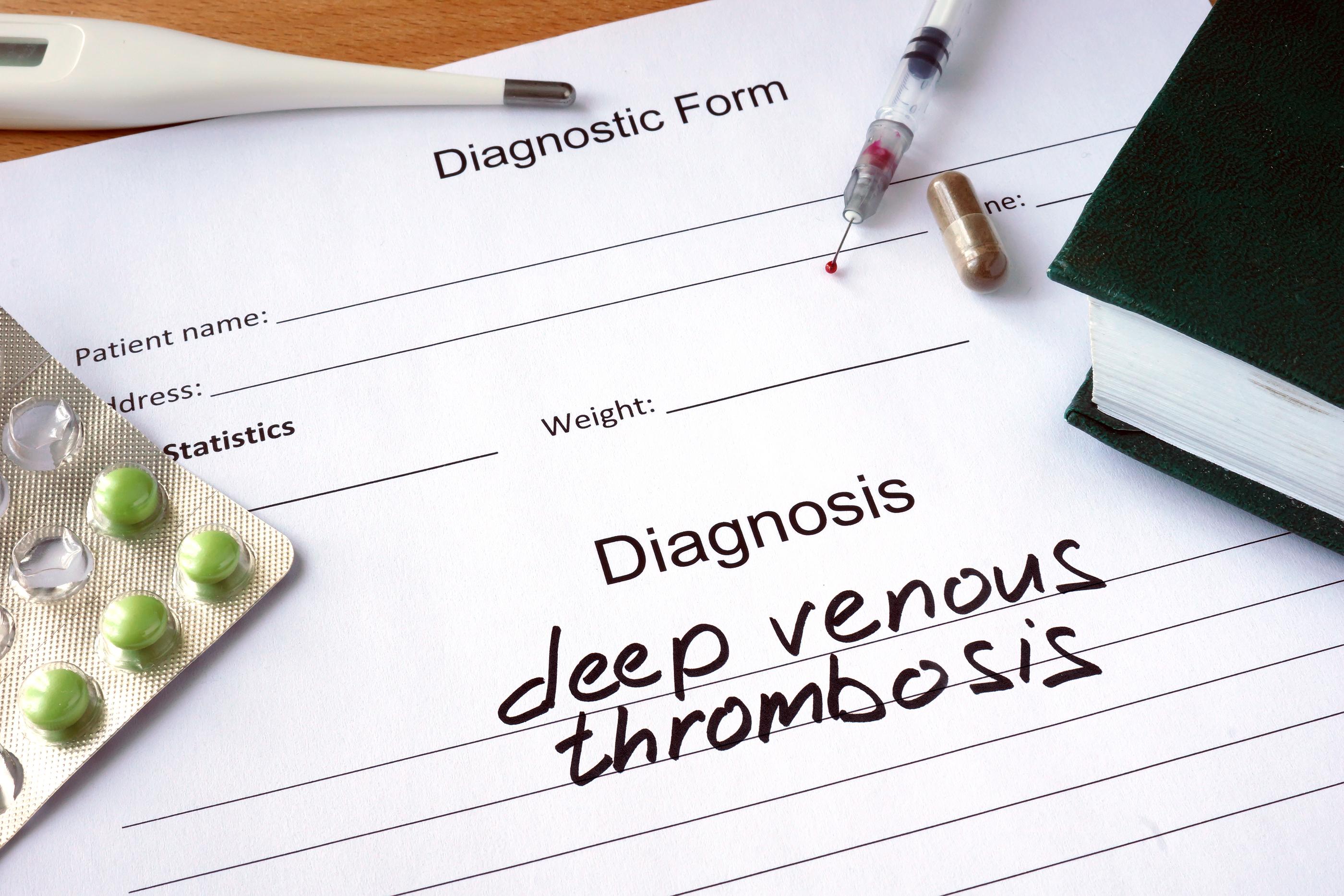 deep venous thrombosis