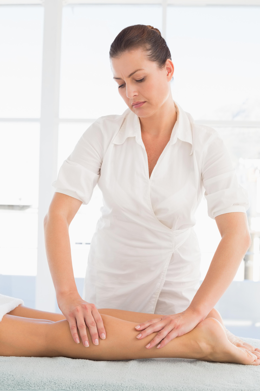 Massage leg pain