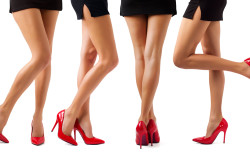 Women's legs pretty